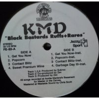 "KMD - Black Bastards Ruffs+Rares, 12"", EP, Reissue"