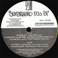 "Various - Superhero DJs EP, 12"", Promo"