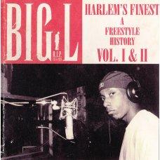 Big L - Harlem's Finest (A Freestyle History Vol. I & II), CDr