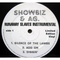 """Showbiz & A.G - Runaway Slaves Instrumentals, 12"""""""