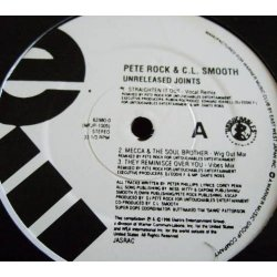 """Pete Rock & C.L. Smooth - Unreleased Joints, 12"""", Reissue"""