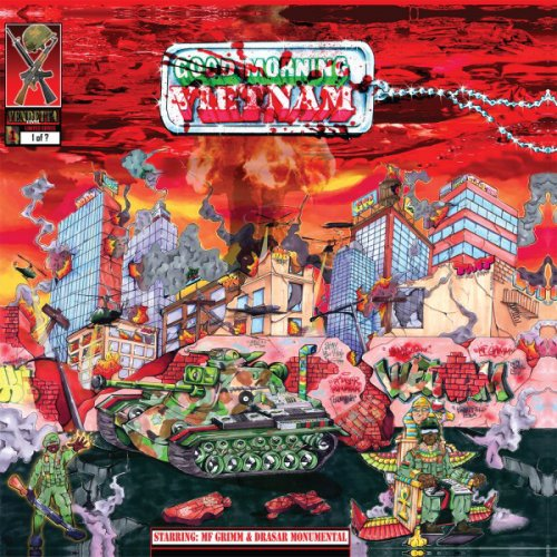 "MF Grimm & Drasar Monumental - Good Morning Vietnam, 12"", EP"