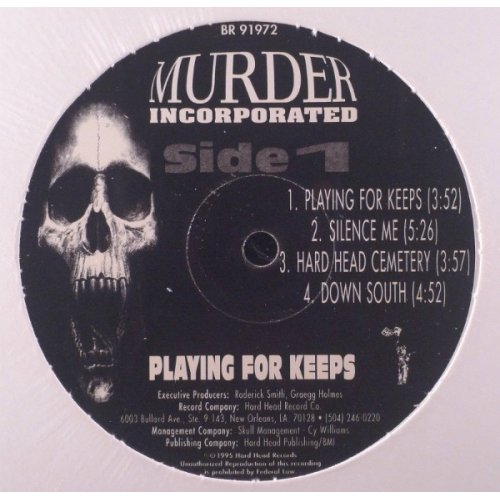 Murder Inc. - Playin' For Keeps, LP