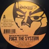 "Down Aka Kilo - Fuck The System, 12"""