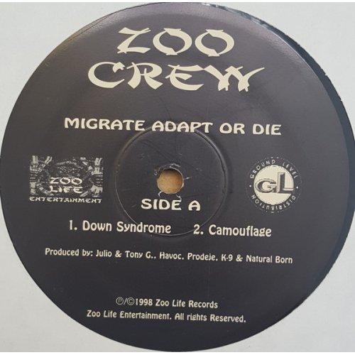 """Zoo Crew - Migrate Adapt Or Die, 12"""", EP"""