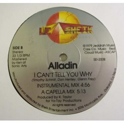 """Alladin - I Can't Tell You Why, 12"""""""