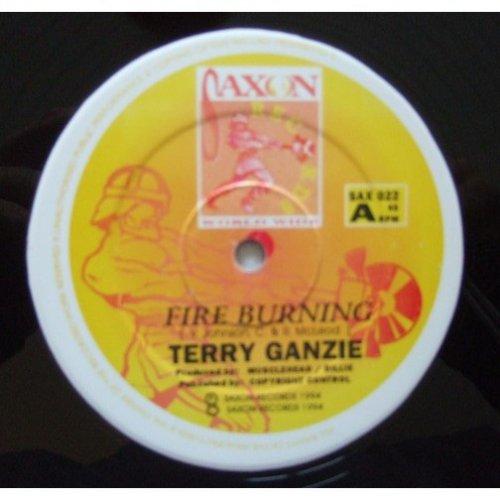 "Terry Ganzie - Fire Burning, 12"""