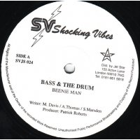 """Beenie Man / Devonte / Snagga Puss - Bass & The Drum / Only You / The Hoop, 12"""""""