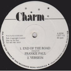 Frankie Paul / Lloyd Parks - End Of The Road / My Woman's Love, 12""