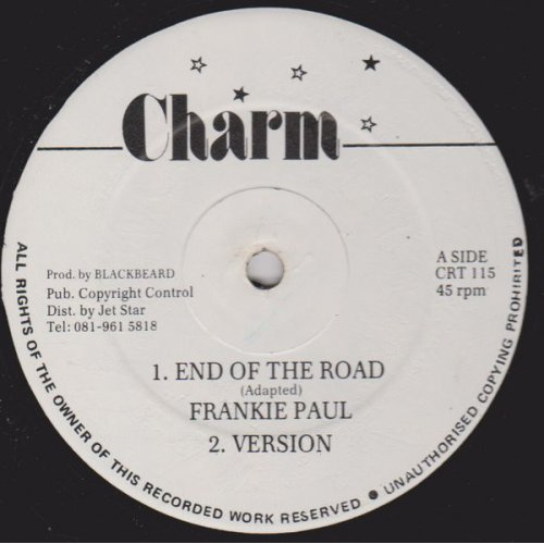 """Frankie Paul / Lloyd Parks - End Of The Road / My Woman's Love, 12"""""""