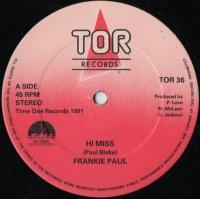 "Frankie Paul - Hi Miss, 12"""