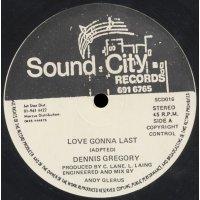 """Dennis Gregory - Love Gonna Last, 12"""""""