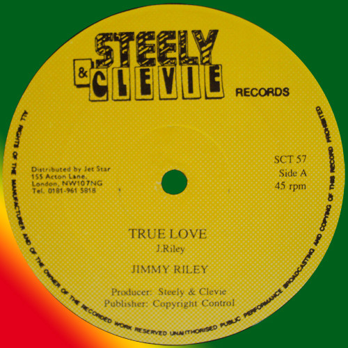 """Jimmy Riley / Pyceral - True Love / Your Own Sin, 12"""""""