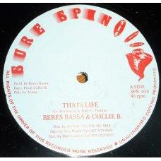 "Beres Bassa & Collie B - Thats Life, 12"""