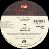 """Lady Saw Feat Merciless - I Don't Need To Know / Long 'Til It Bend, 12"""""""