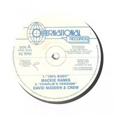 "Mackie Ranks / David Madden & Crew / Firehouse Crew - 100% Body / Come Here, 12"""