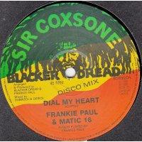 "Frankie Paul & Matic 16 - Dial My Heart, 12"""