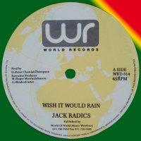 "Jack Radics - Wish It Would Rain, 12"""