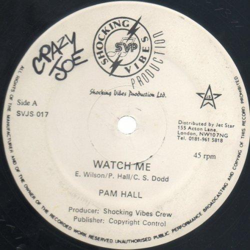 "Pam Hall - Watch Me, 12"""