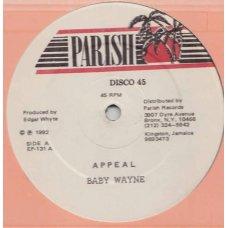 "Baby Wayne / Everton Chambers - Appeal / Sugar Dumplin, 12"""