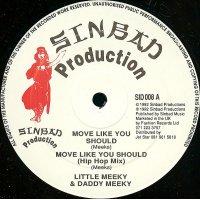 "Daddy Meeky & Little Meeky / Glen Ricks - Move Like You Should / Give Love, 12"""
