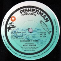 """Nico Junior - Recession It Come / Some Gal Can't Butterfly, 12"""""""