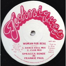 Spragga Benze & Frankie Paul - Woman For Real, 12""