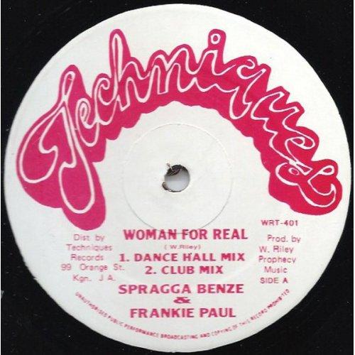 "Spragga Benze & Frankie Paul - Woman For Real, 12"""