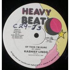 "Kashief Lindo - Of This I'm Sure, 12"""