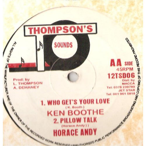 """Ken Boothe / Horace Andy / Frankie Paul / Linval Thompson - Who Get´S Your Love / Pillow Talk / Doing It Nasty / Money Money, 12"""""""