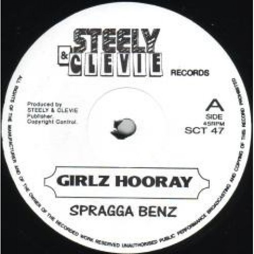 "Spragga Benz, Don Yute - Girlz Hooray / Hardcore, 12"""