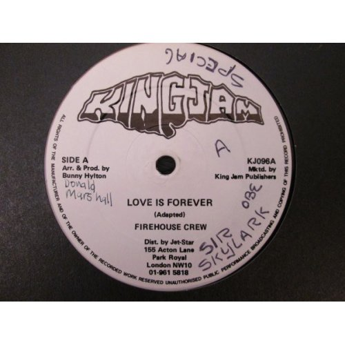 """Firehouse Crew - Love Is Forever, 12"""""""
