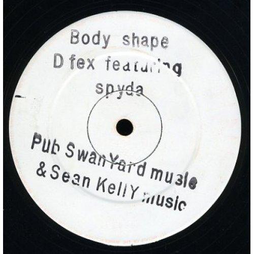 """D Fex Featuring Spyda - Body Shape, 12"""""""