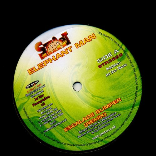 "Elephant Man - Escalade Bumper (Remix), 12"""