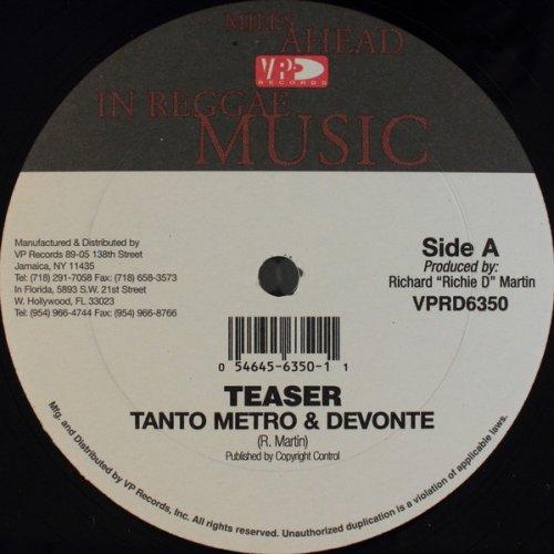 """Tanto Metro & Devonte / Spragga Benz - Teaser / Harder, 12"""""""