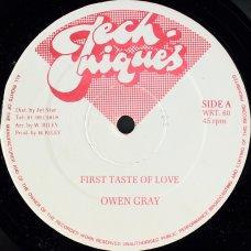 """Owen Gray - First Taste Of Love, 12"""""""