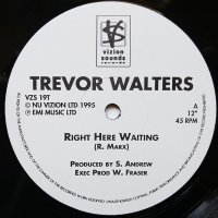 """Trevor Walters - Right Here Waiting, 12"""""""