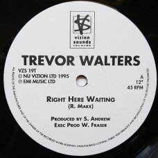 Trevor Walters - Right Here Waiting, 12""