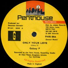 Galaxy P - Only Your Love, 12""