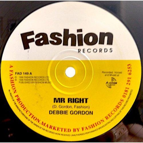 "Debbie Gordon - Mr Right, 12"""