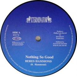 """Beres Hammond / Josey Wales & Charlie Chaplin - Nothing So Good / Forever Young, 12"""""""
