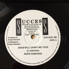 Rupie Edwards - The Children Of Today / Jesus Will Carry Me True, 12""