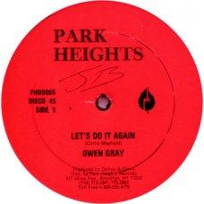 """Owen Gray - Let's Do It Again, 12"""""""