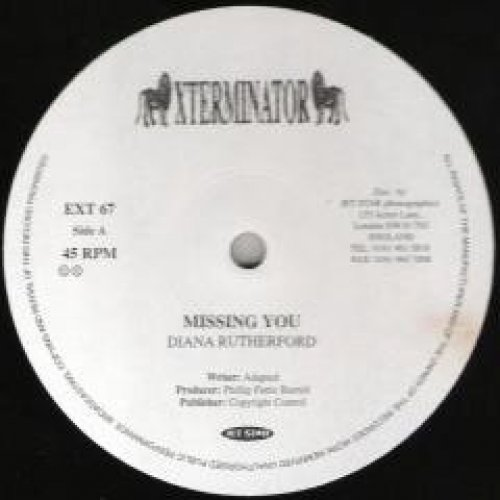 """Diana Rutherford - Missing You, 12"""""""
