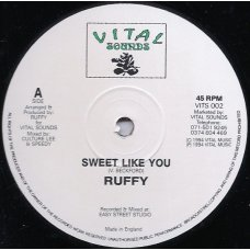 Ruffy - Sweet Like You, 12""