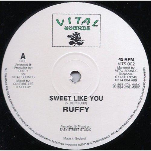 """Ruffy - Sweet Like You, 12"""""""