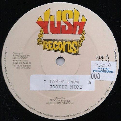 """Jooxie Nice / Freddie Kruga, David Boomer - I Don't Know / Remind Me, 12"""""""