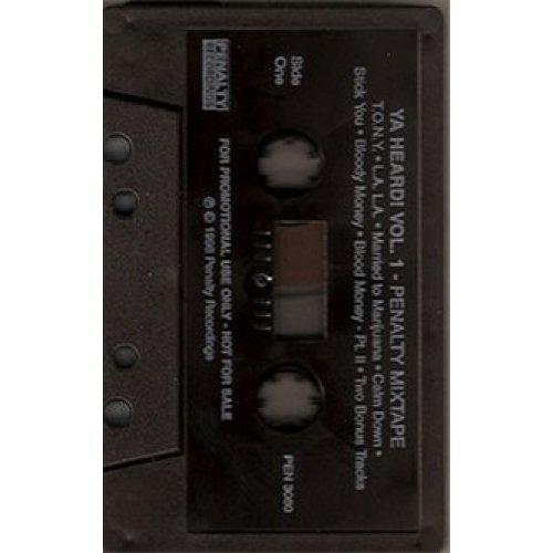 Various - Ya Heard! Vol. 1 Penalty Mix Tape, Mixtape, Promo Cassette