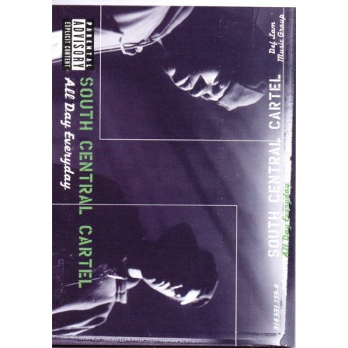 South Central Cartel - All Day Everyday, Cassette