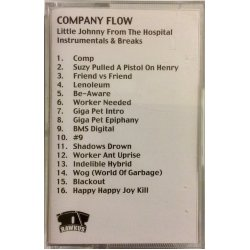 Company Flow - Little Johnny From The Hospital (Instrumentals & Breaks), Promo Cassette